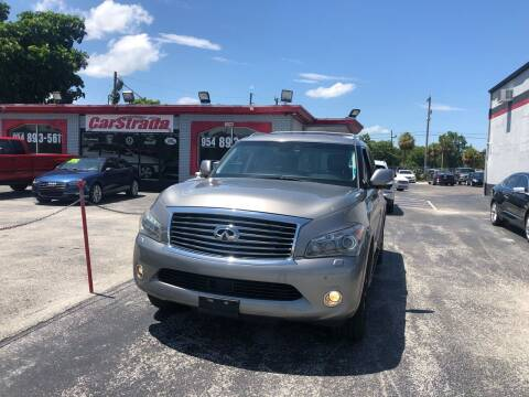 2012 Infiniti QX56 for sale at CARSTRADA in Hollywood FL