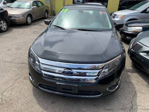 2012 Ford Fusion for sale at HW Used Car Sales LTD in Chicago IL