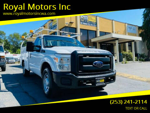 2014 Ford F-250 Super Duty for sale at Royal Motors Inc in Kent WA
