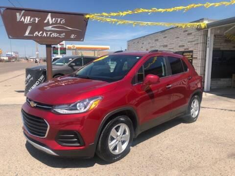 2018 Chevrolet Trax for sale at Valley Auto Locators in Gering NE