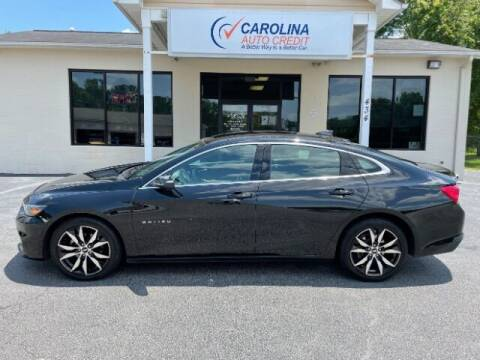 2018 Chevrolet Malibu for sale at Carolina Auto Credit in Youngsville NC