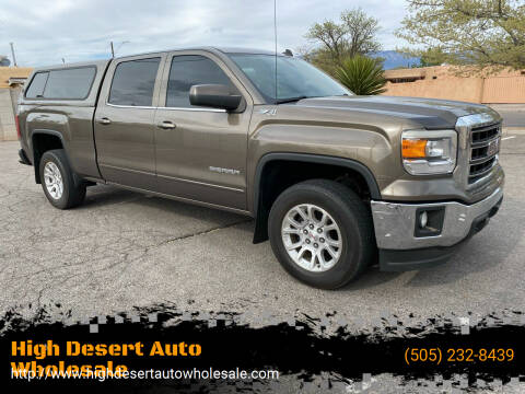 2014 GMC Sierra 1500 for sale at High Desert Auto Wholesale in Albuquerque NM