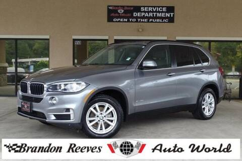 2015 BMW X5 for sale at Brandon Reeves Auto World in Monroe NC