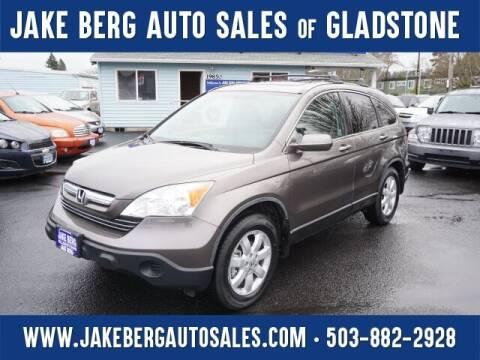 2009 Honda CR-V for sale at Jake Berg Auto Sales in Gladstone OR