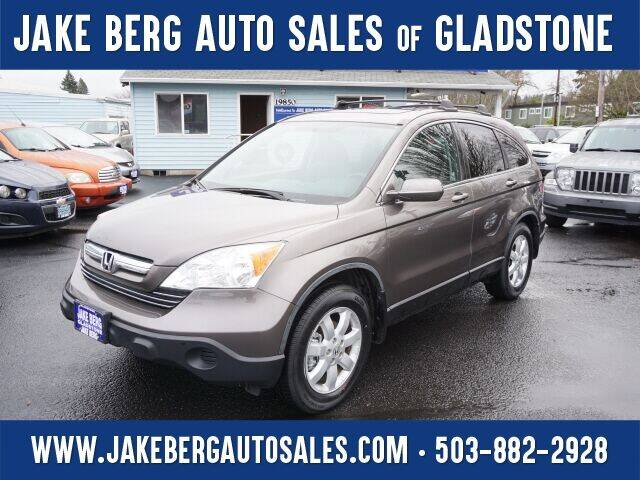 2009 Honda CR-V for sale at Jake Berg Auto Sales in Gladstone OR