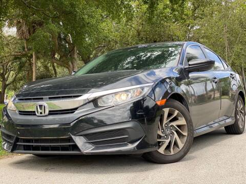 2017 Honda Civic for sale at HIGH PERFORMANCE MOTORS in Hollywood FL