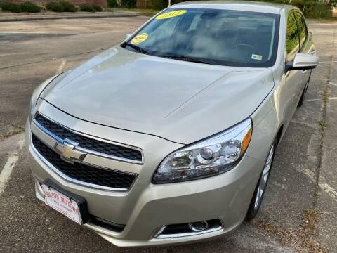 2013 Chevrolet Malibu for sale at Hilton Motors Inc. in Newport News VA