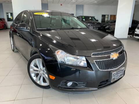 2013 Chevrolet Cruze for sale at Auto Mall of Springfield in Springfield IL