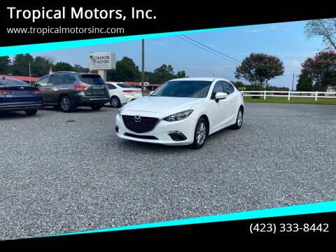 2016 Mazda MAZDA3 for sale at Tropical Motors, Inc. in Riceville TN