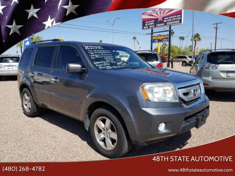 2010 Honda Pilot for sale at 48TH STATE AUTOMOTIVE in Mesa AZ