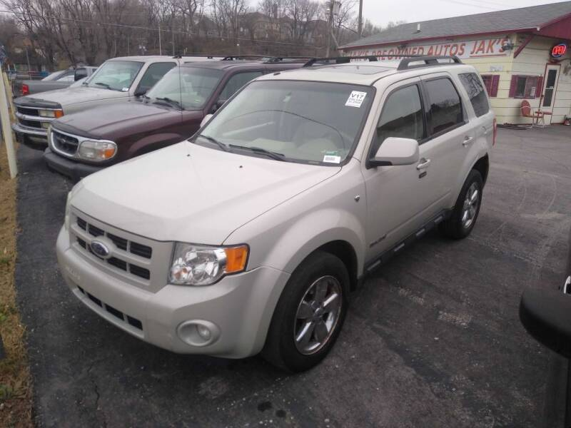 2008 Ford Escape for sale at Jak's Preowned Autos in Saint Joseph MO
