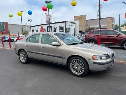 2002 Volvo S60 for sale at MILLENNIUM CARS in San Diego CA