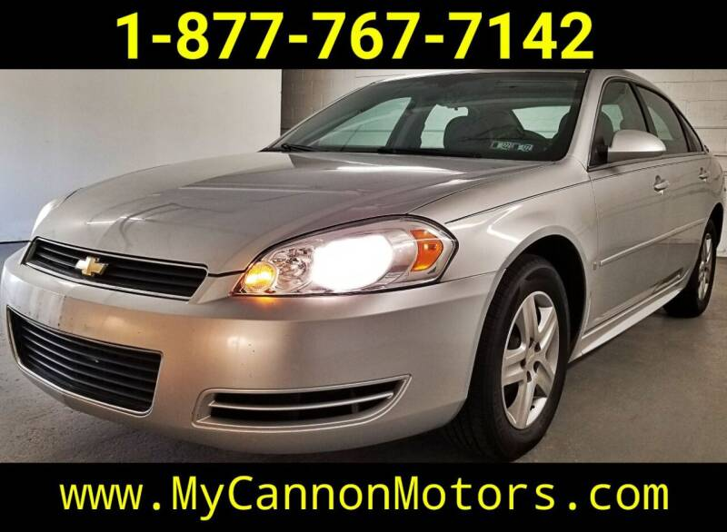 2009 Chevrolet Impala for sale at Cannon Motors in Silverdale PA