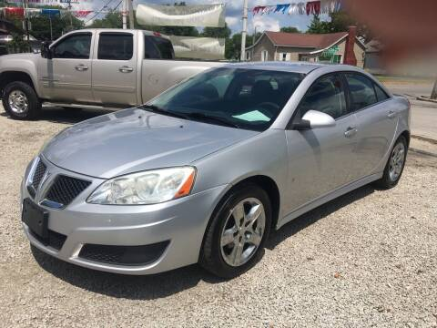 2010 Pontiac G6 for sale at Antique Motors in Plymouth IN