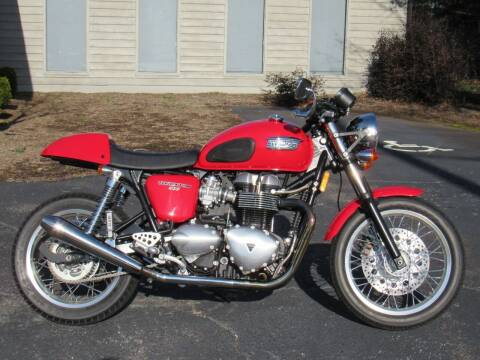 2012 Triumph Thruxton for sale at Blue Ridge Riders in Granite Falls NC