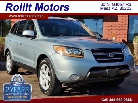 2007 Hyundai Santa Fe for sale at Rollit Motors in Mesa AZ