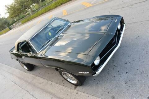 1969 Chevrolet Camaro for sale at NJ Enterprises in Indianapolis IN