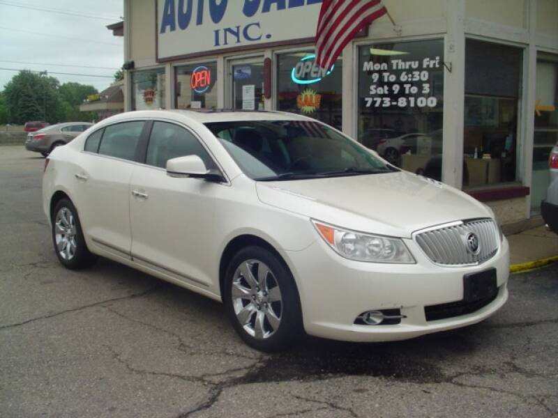 2012 Buick LaCrosse for sale at G & L Auto Sales Inc in Roseville MI