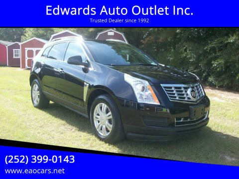 2016 Cadillac SRX for sale at Edwards Auto Outlet Inc. in Wilson NC