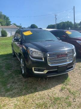 2014 GMC Acadia for sale at Hillside Motor Sales in Coldwater MI