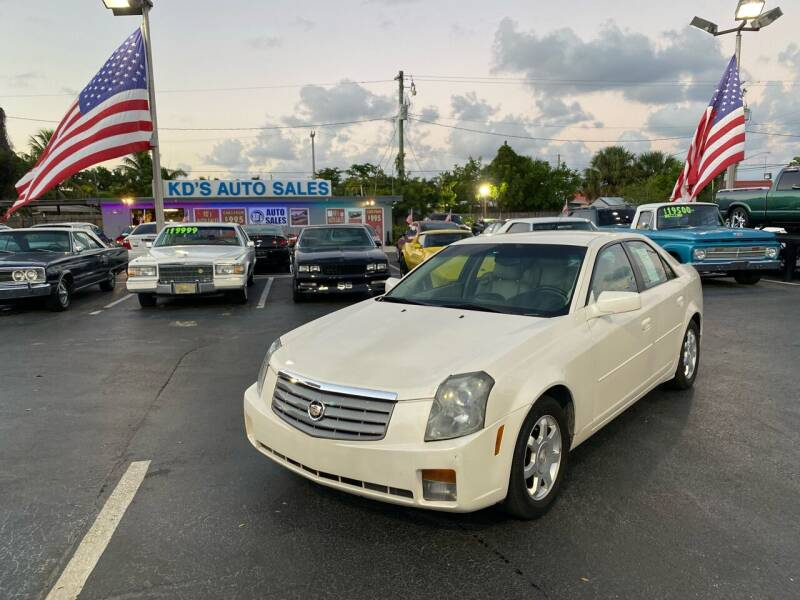 2004 Cadillac CTS for sale at KD's Auto Sales in Pompano Beach FL