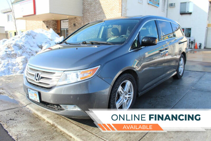 2013 Honda Odyssey for sale at K & L Auto Sales in Saint Paul MN