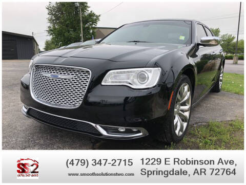 2017 Chrysler 300 for sale at Smooth Solutions 2 LLC in Springdale AR