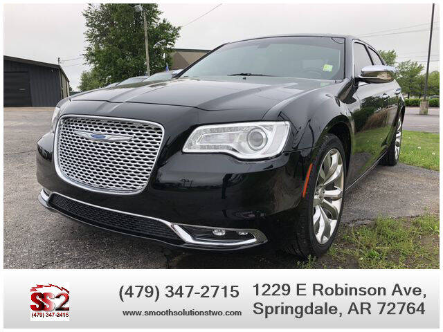2017 Chrysler 300 for sale at Smooth Solutions 2 LLC in Springdale AR