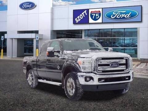 2015 Ford F-250 Super Duty for sale at Szott Ford in Holly MI