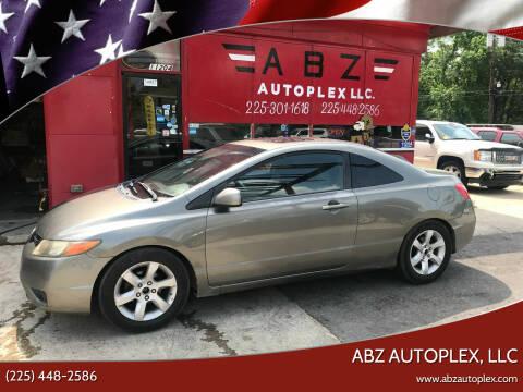 2007 Honda Civic for sale at ABZ Autoplex, LLC in Baton Rouge LA