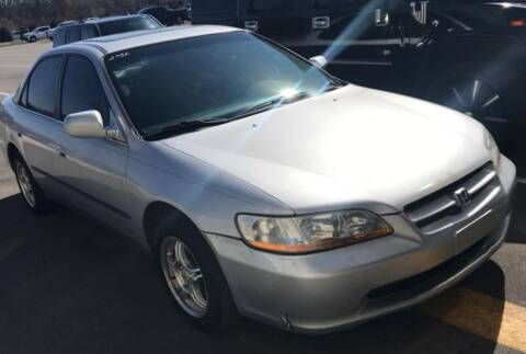 1999 Honda Accord for sale at D & J AUTO EXCHANGE in Columbus IN