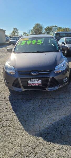 2012 Ford Focus for sale at Chicago Auto Exchange in South Chicago Heights IL