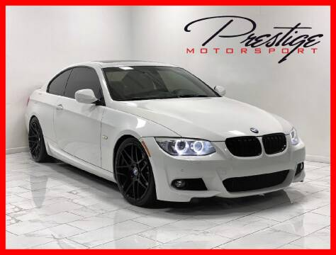 2012 BMW 3 Series for sale at Prestige Motorsport in Rancho Cordova CA