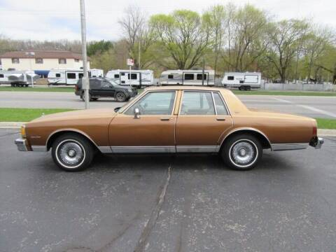 1980 Chevrolet Caprice for sale at Bill Smith Used Cars in Muskegon MI