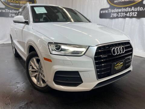 2017 Audi Q3 for sale at TRADEWINDS MOTOR CENTER LLC in Cleveland OH