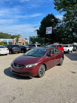 2013 Honda Civic for sale at NEWFOUND MOTORS INC in Seabrook NH