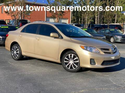 2012 Toyota Corolla for sale at Town Square Motors in Lawrenceville GA