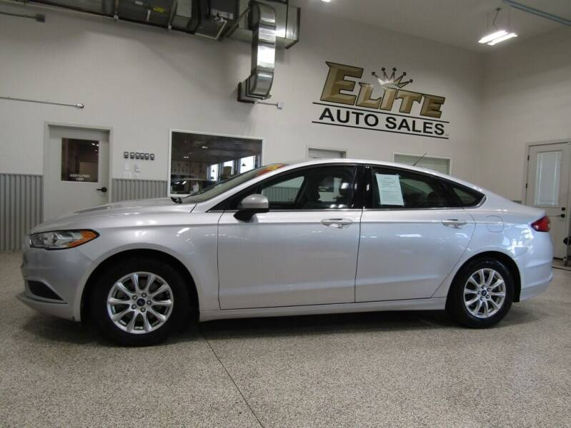 2017 Ford Fusion for sale at Elite Auto Sales in Ammon ID