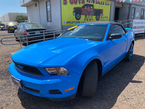 2010 Ford Mustang for sale at 3 Guys Auto Sales LLC in Phoenix AZ