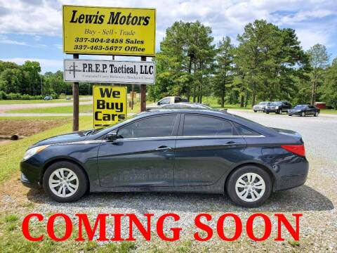 2012 Hyundai Sonata for sale at Lewis Motors LLC in Deridder LA