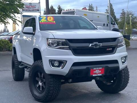 2020 Chevrolet Colorado for sale at Real Deal Cars in Everett WA