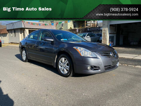 2011 Nissan Altima for sale at Big Time Auto Sales in Vauxhall NJ