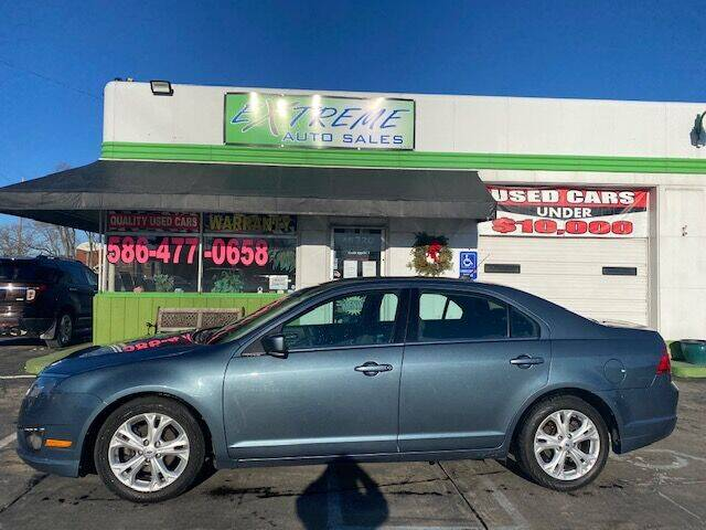 2012 Ford Fusion for sale at Extreme Auto Sales in Clinton Township MI