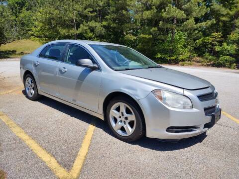 2010 Chevrolet Malibu for sale at WIGGLES AUTO SALES INC in Mableton GA