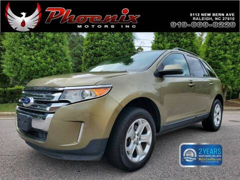 2013 Ford Edge for sale at Phoenix Motors Inc in Raleigh NC