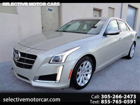 2014 Cadillac CTS for sale at Selective Motor Cars in Miami FL