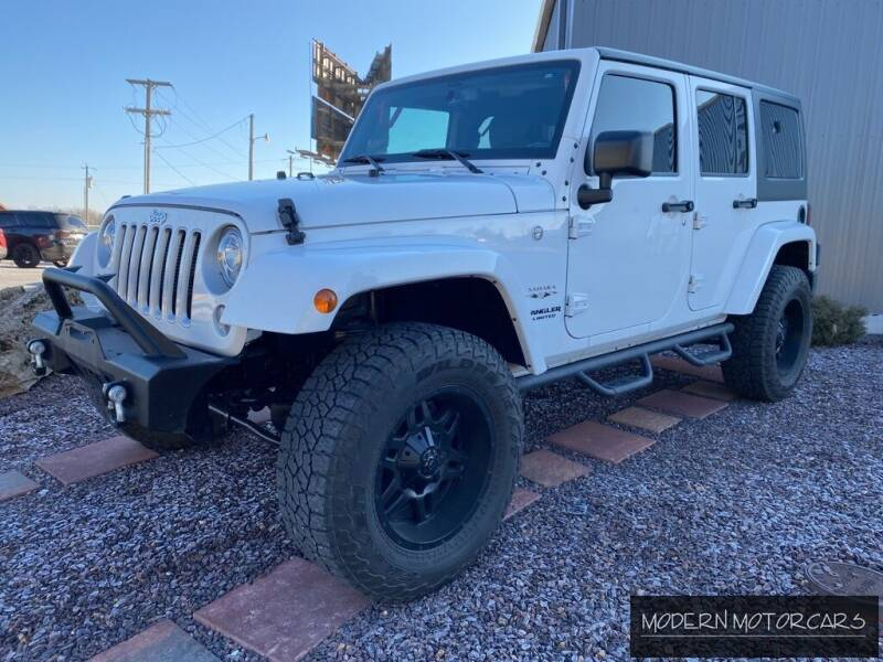 2017 Jeep Wrangler Unlimited for sale at Modern Motorcars in Nixa MO