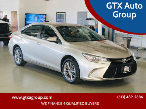 2016 Toyota Camry for sale at GTX Auto Group in West Chester OH
