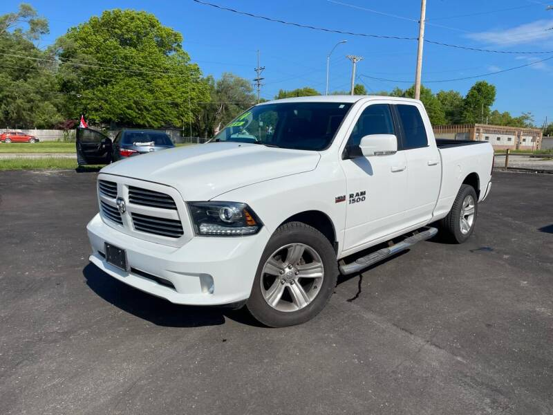 2014 RAM Ram Pickup 1500 for sale at Jerry & Menos Auto Sales in Belton MO