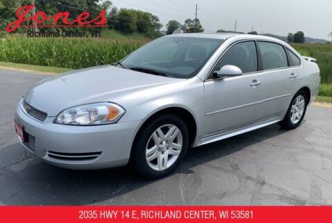 2012 Chevrolet Impala for sale at Jones Chevrolet Buick Cadillac in Richland Center WI